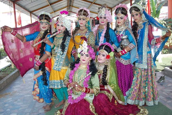 jai shankar mandir panjpir organized grand procession to celebrate shivaratri