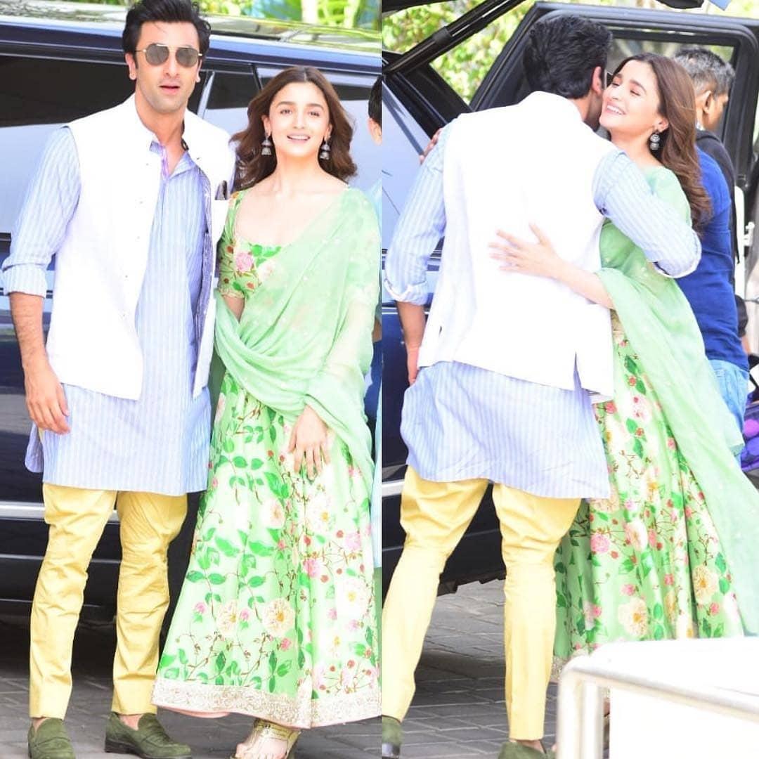 PunjabKesari, Alia Bhatt, Alia Anarkali Suit