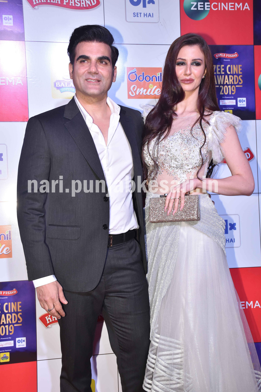 PunjabKesari, arbaz khan with girlfriend