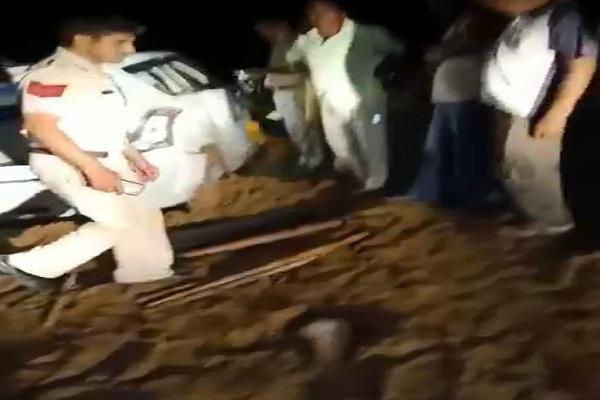 PunjabKesari, armed, attack, sarpanch, Home, Police, Crime