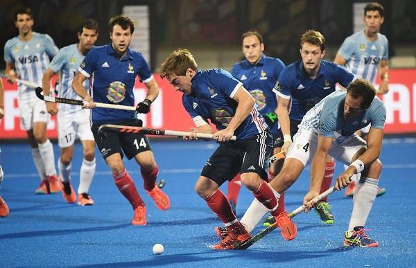 sports news, Hockey news in hindi, mens hockey world cup 2018, France, beat, Argentina