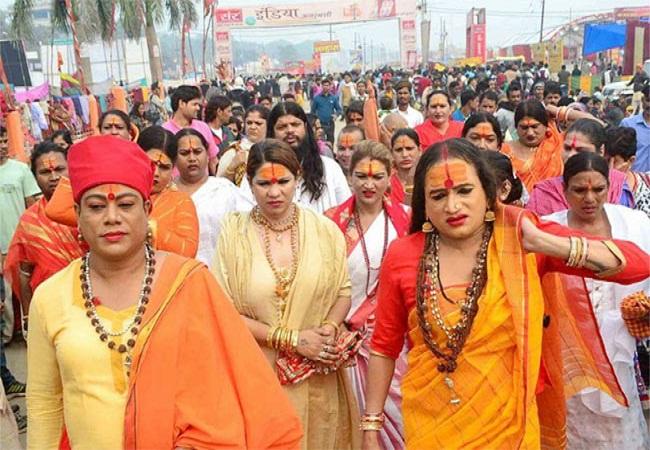 PunjabKesari, कुंभ 2019, कुंभ प्रयागराज, Kumbh 2019, Kumbh Prayagraj, Kinner Akhada prayagraj kumbh