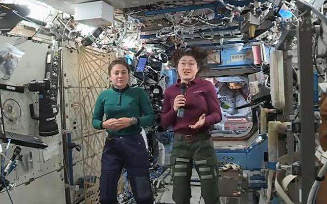 PunjabKesari,Nari,Christina Koch, Jessica Mir,Nasa, Spacewalk, Women Empowerment