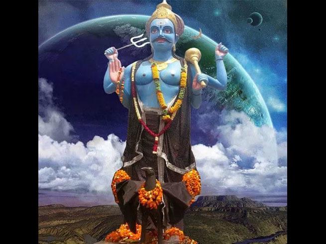 PunjabKesari, Shani Dev, Shani Dev Image, शनि देव, Shani Image