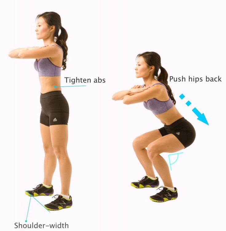 PunjabKesari, sumo squat exercise Image, exercise for thighs Image