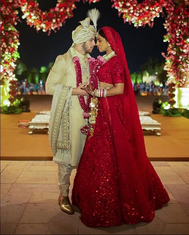 PunjabKesari, प्रियंका चोपड़ा इमेज, निक जोनस इमेज, शादी इमेज, लहंगा इमेज