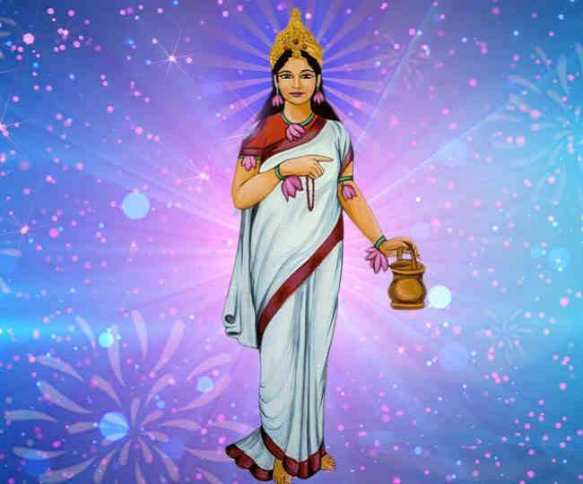 PunjabKesari, Shardiya Navratri 2020 2nd Day, Goddess Brahmacharini, Devi Brahmacharini, Maa Brahmacharini, Brahmacharini, 2nd Day of Navratri, Navratri 2020 Maa Brahmacharini, What does the name Brahmacharini mean