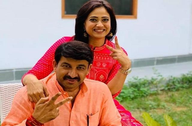 दूसरी बार पिता बने मनोज तिवारी, यह एक्ट्रेस बनी थी पहली पत्नी से तलाक का कारण - know bjp mp manoj tiwari first wife and divorce-mobile