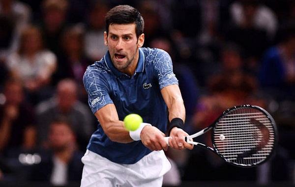 Tennis news in hindi, Qatar Open 2019, World No.1 Player, Novak Djokovic out Qatar Open, losing semi finals