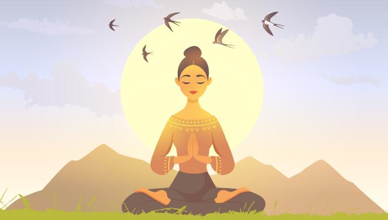 एकांतवास, Solitude, Spiritual, Spiritual practice, Religious Story, Religious Concept, Motivational Theme, Motivational Concept, Punjab Kesari, Dharm, Joys of meditation