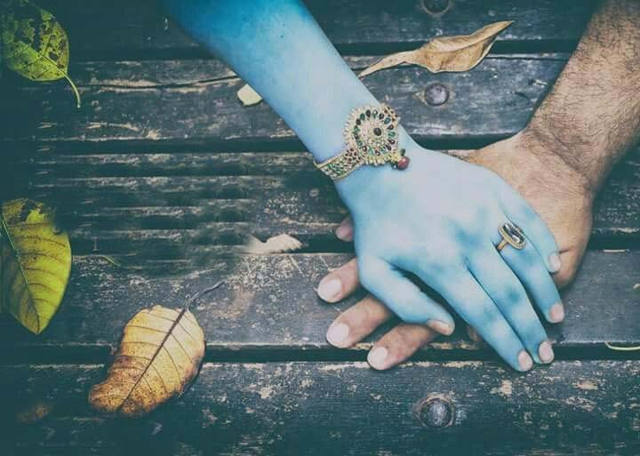 PunjabKesari, Sri krishan holding your hand, Krishna Holding hand