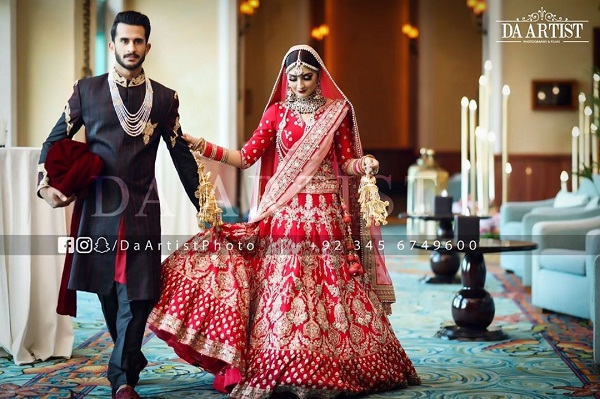 Hassan ali and Shamia aarzoo got married in dubai, Photos viral