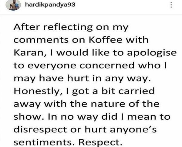 pandya instagram image