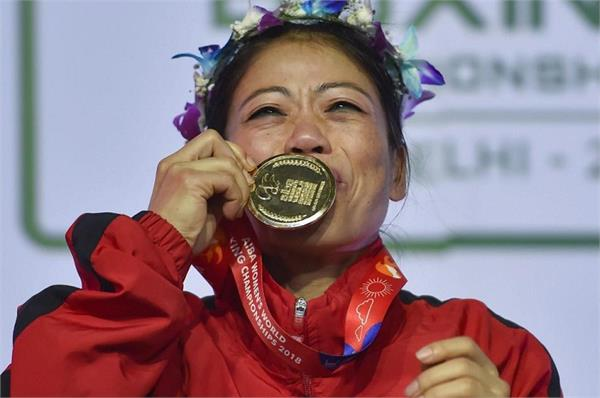 PunjabKesari, Asia's Best Female Athlete, Mary Kom,Nari