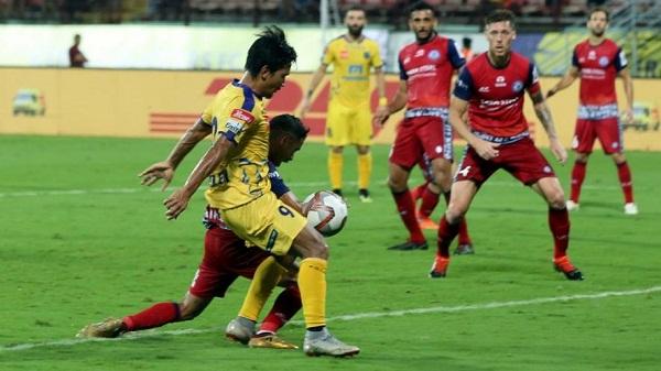 Sports news, Football news in hindi, ISL, Kerala throws, Jamshedpur 2-2 draw, Indian Super League 2018