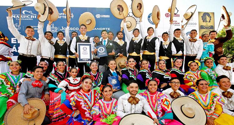 PunjabKesari,Mexico, Mexican city, Mariachi music, Guinness world record,Nari
