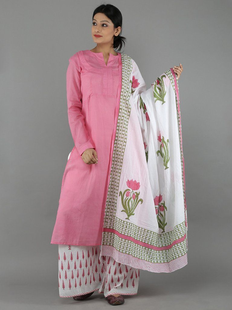 PunjabKesari, प्रिंटेड दुपट्टे इमेज, प्लेन सूट इमेज, printed dupatta image, plain suit image