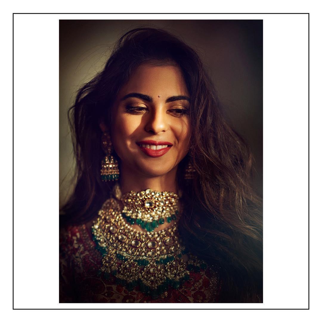 PunjabKesari, Isha Ambani pre wedding puja Image, Nari