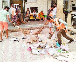 PunjabKesari, Closed Amarnath Yatra administration cleared base camp
