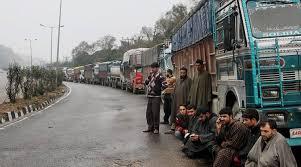 rain and lanslide on jammu srinagar highway traffic closed