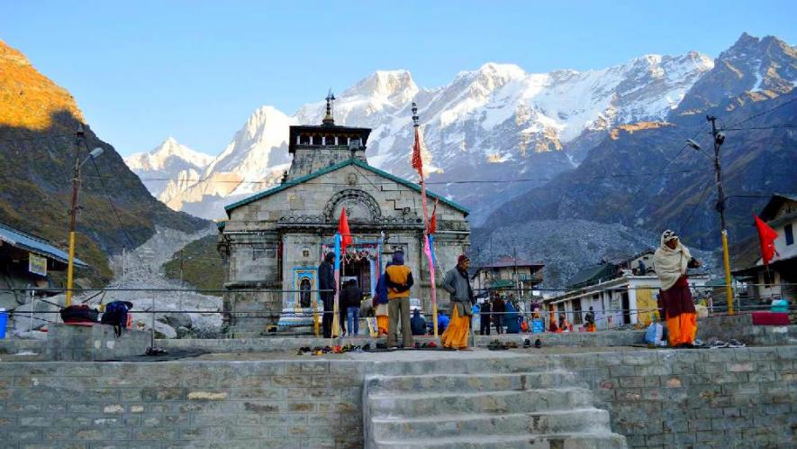 PunjabKesari, Kedarnath temple open for pilgrims, Kedarnath Temple, Kedarnath Dham yatra
