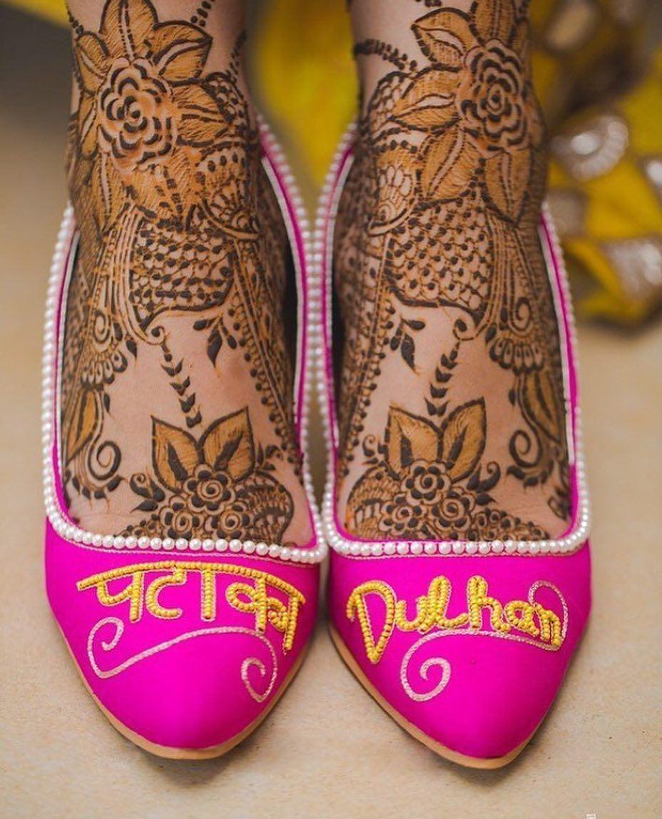 PunjabKesari, Nari, पंजाबी जूती डिजाइन्स इमेज, ब्राइडल फुटवियर्स इमेज