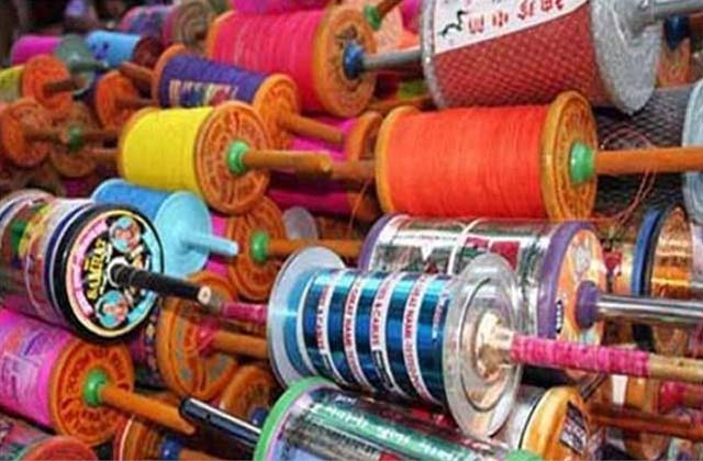 PunjabKesari, China dor selling secretly, kites market before Basant Panchami