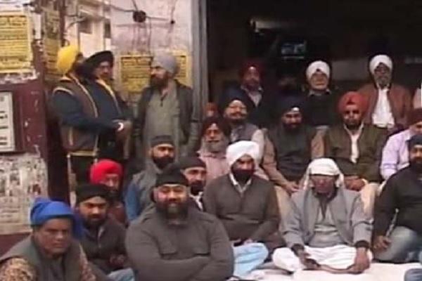 PunjabKesari, Mp News, Punjab Kesari, Jabalpur News, Sikh society, strike, Against, CM Kamalnath, Congress, जबलपुर न्यूज,सिख समाज,विरोध,मुख्यमंत्री कमलनाथ
