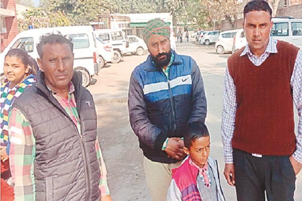 PunjabKesari,  Charge on BSF jawan for assaulting elderly woman