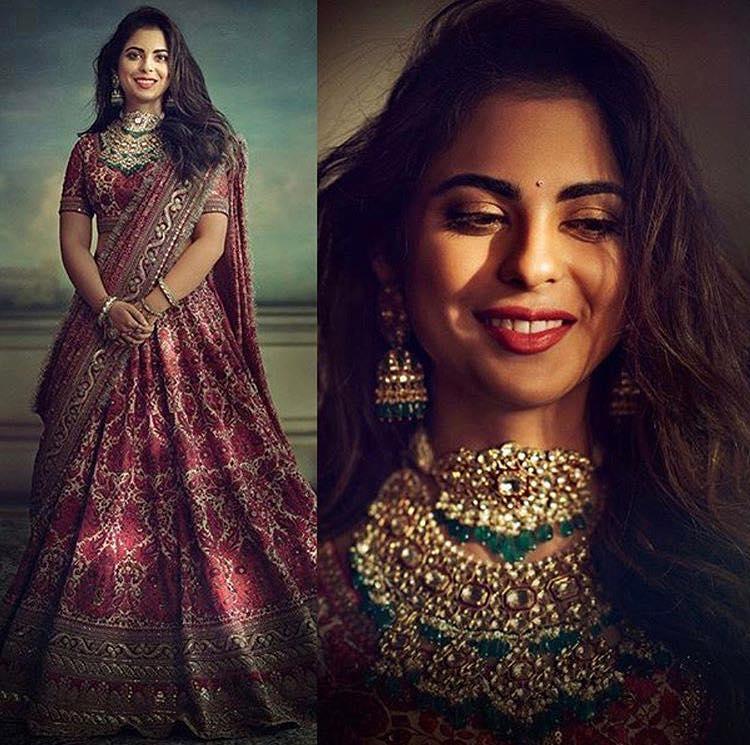 PunjabKesari, Nari, Isha Ambani Pre wedding puja Image