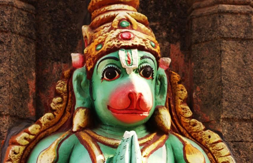 PunjabKesari, Lord Hanuman, Hanuman ji Red Langot, Bajrangbali, Pawanputra