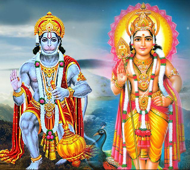PunjabKesari, Lord Hanuman, Hanuman ji Red Langot, Bajrangbali, Pawanputra, कार्तिक, Lord Kartik