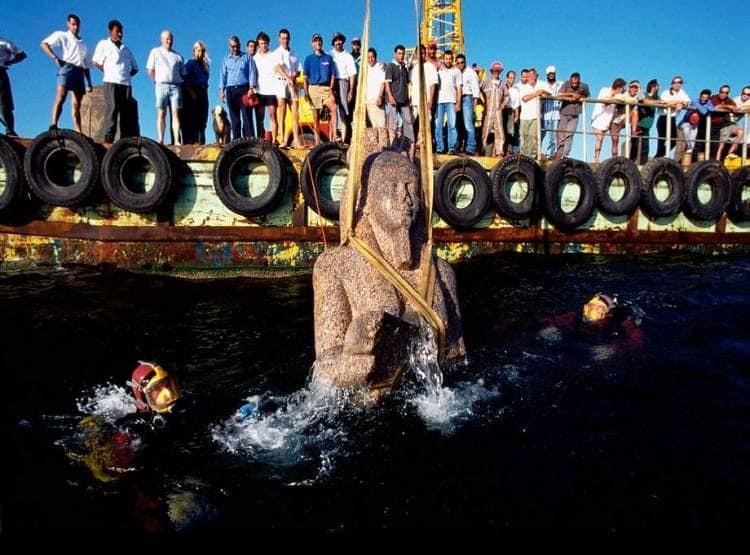 PunjabKesari, Egypt, Egyptian, Atlantis, Mysterious destroyed temple