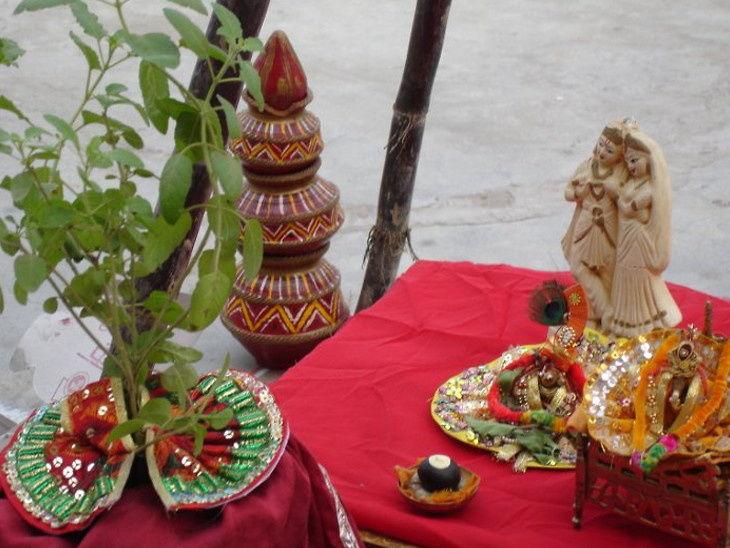 PunjabKesari, Dharam, Tulsi Vivah, Prabodhini Ekadashi, Tulsi Pujan 2019, Dev Prabodhini Ekadashi 2019, Ekadashi Tithi, एकादशी, तुलसी विवाह, तुलसी पूजन, श्री हरि, Sri Hari, Lord Vishnu