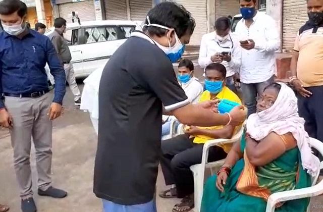 PunjabKesari, Vaccination campaign, Chhindwara, Awareness rally, Madhya Pradesh