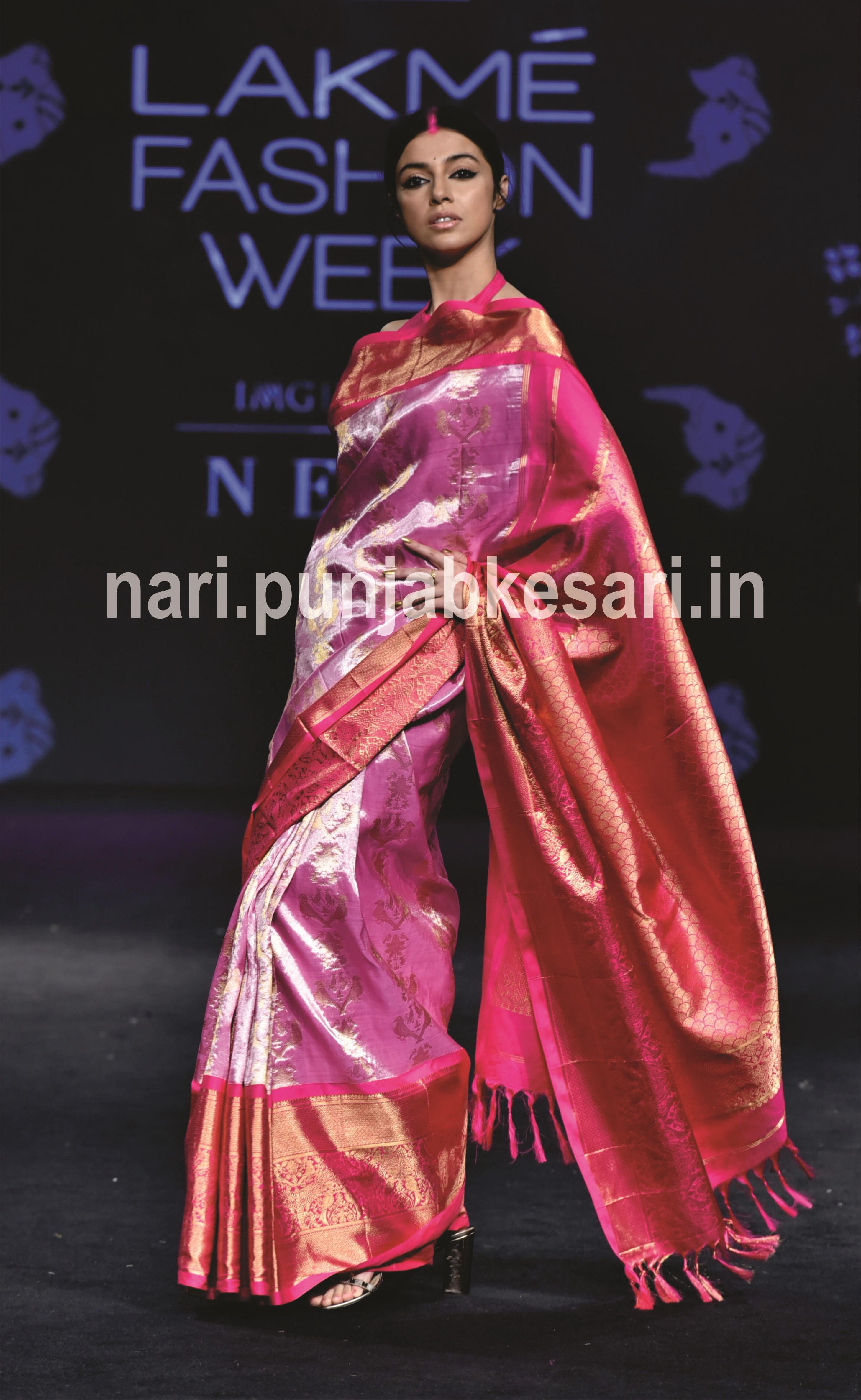 PunjabKesari, Nari, LFW19, Lakme Fashion Week,LFW19 Day 3