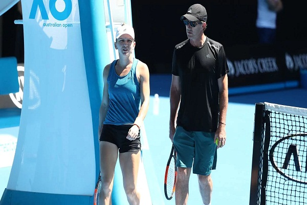 Sports news, tennis news hindi, no.1 Player, French Open Champion, Simona Halep, Coach Darren Cahill,  separated