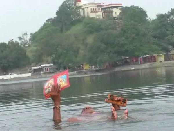 PunjabKesari, Madhya Pradesh News, Dhar News, Ayodhya, Ram Mandir, Rambhakt, Devi Sagar Talab, Saryu River, Sundar Kand, Supreme Court