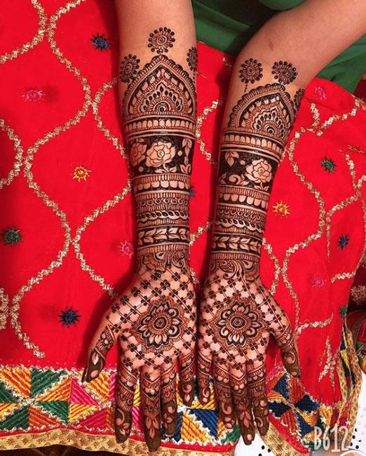 PunjabKesari, Simple Mehndi Design Image, Latest and Simple Mehndi Design Image,लेटेस्ट एंड सिंपल मेहंदी डिजाइन इमेज