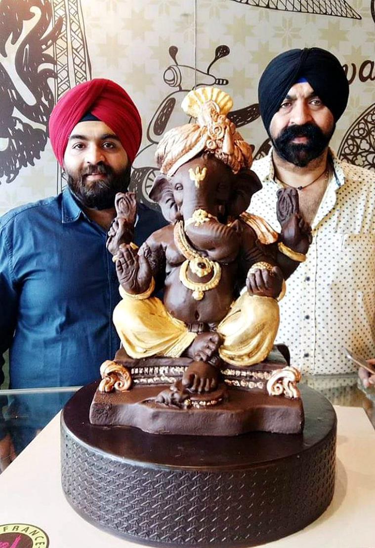PunjabKesari,Harjinder Singh, Eco Friendly Ganesh Chaturthi, Nari