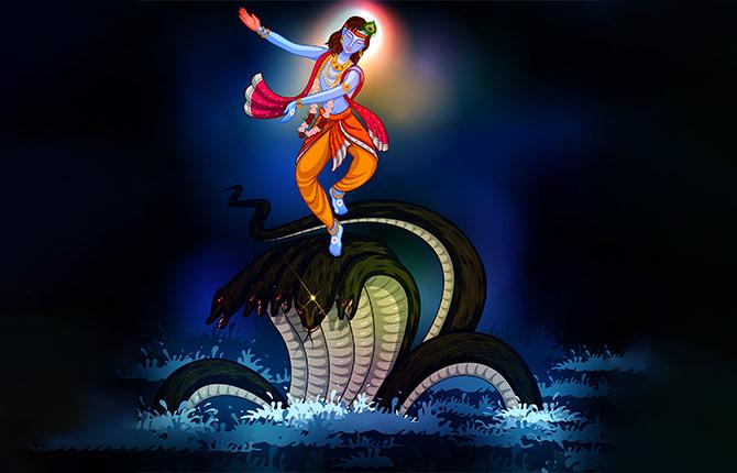 PunjabKesari, Kalia Naag, Sri Krishna, कालिया नाग, श्री कृष्ण, गरुड़, Garuda, Garuda Dev, Dharmik Katha in Hindi, Religious Story in Hindi, Hindu Religion, Dharm, Punjab Kesari