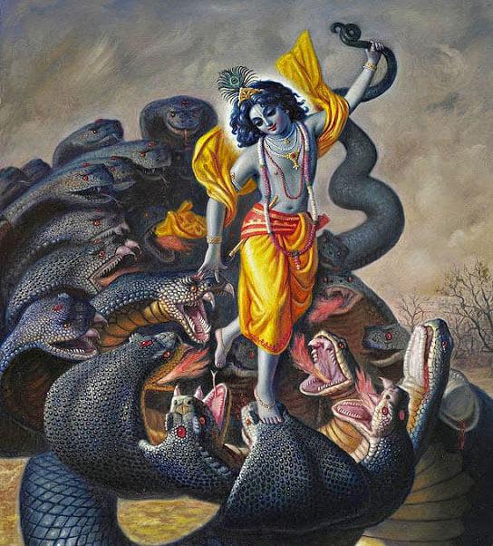 Kalia Naag, Sri Krishna, कालिया नाग, श्री कृष्ण, गरुड़, Garuda, Garuda Dev, Dharmik Katha in Hindi, Religious Story in Hindi, Hindu Religion, Dharm, Punjab Kesari