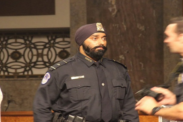 first sikh involved in trump security squad caught up in 1984 riots