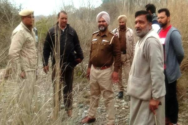 PunjabKesari, dead body of son of former BJP president was found