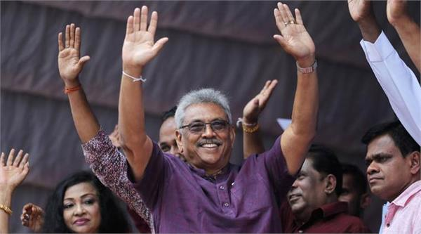 sri lanka election gotabaya rajapaksa takes early lead