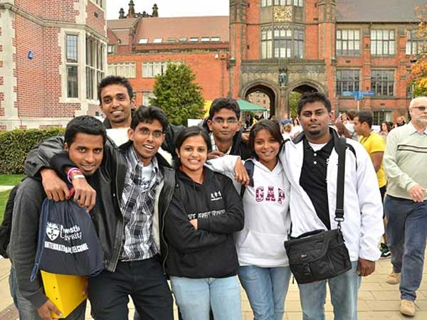 PunjabKesari, uk students arriving at universities for studying are non attendent