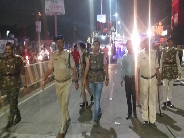 PunjabKesari, Madhya Pradesh News, Jabalpur News, Gorakhpur, Kali Mata Visarjan, SDM, Police Officer, Security Control, Law and Order