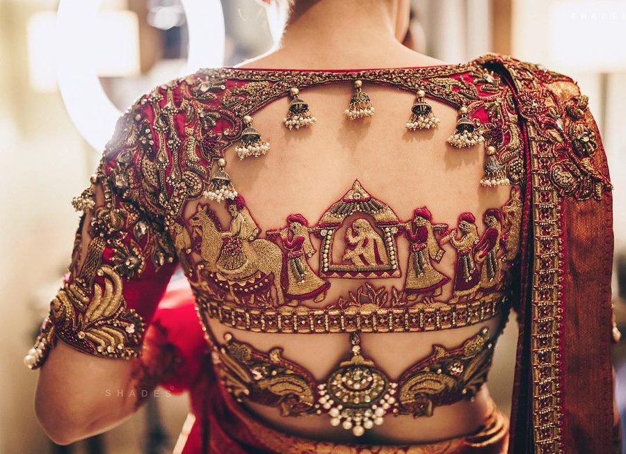 PunjabKesari, Bridal Blouse Designs,ब्राइडल ब्लाउज डिजाइन