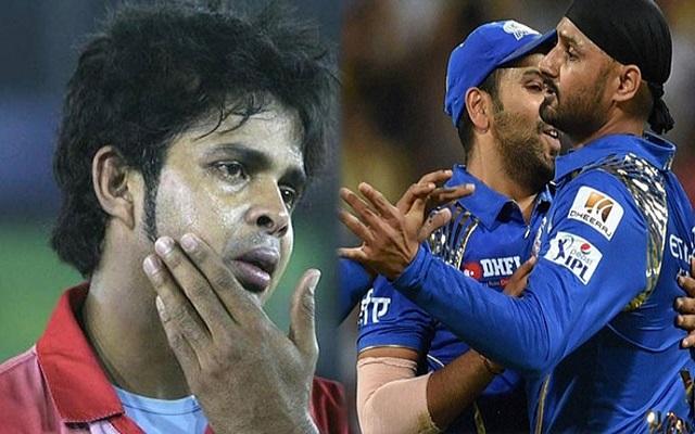 sreesanth vs harbhajan