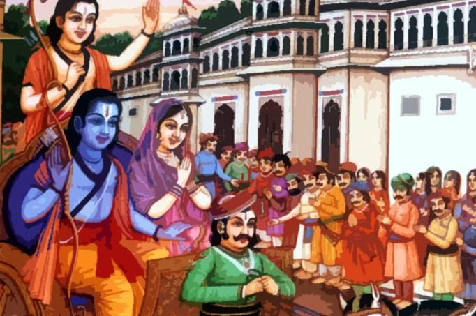 PunjabKesari, Sri ram come back from vanvas, ayodhya, Sri ram, devi sita, lakshman ji